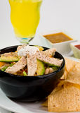 De Mexicaanse Kom van de Taco Stock Foto
