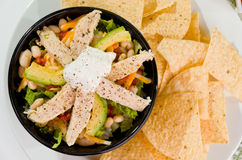 De Mexicaanse Kom van de Taco Stock Afbeelding