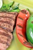 De Mexicaanse plaat van carneasada Stock Afbeelding