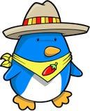 De Mexicaanse Vector van de Pinguïn Royalty-vrije Stock Afbeelding