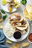 De Mexicaanse verscheidenheid van het straatvoedsel royalty-vrije stock foto