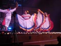 De Mexicaanse viering van fiestalatina 2014 Royalty-vrije Stock Foto