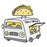 De Mexicaanse Vrachtwagen van het Tacovoedsel Royalty-vrije Stock Foto