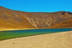 de mexico nära den gammala tolucavulkan för nevado Royaltyfri Foto