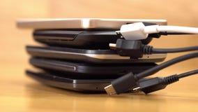 De micro- stop van USB stock videobeelden