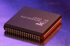 De microchip van de computer Stock Afbeeldingen