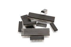 De microchips van de computer Stock Foto