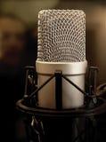 De Microfoon van de Condensator van de studio Stock Fotografie