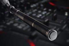 De microfoon van de opnamestudio Royalty-vrije Stock Foto's
