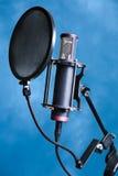 De microfoon van de studio Royalty-vrije Stock Afbeeldingen