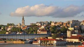 De Middag van Belgrado Servië royalty-vrije stock foto's