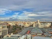 De middag van Madrid met vrienden Royalty-vrije Stock Afbeelding