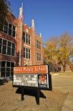 De Middelbare school van Elvis Presley, Memphis stock foto's
