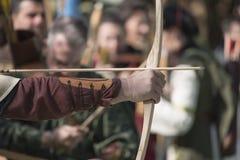 De middeleeuwse boog Royalty-vrije Stock Fotografie