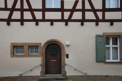 De middeleeuwse Bouw Bamberg royalty-vrije stock foto's
