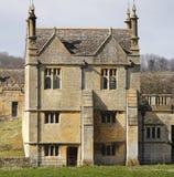 De middeleeuwse Engelse Bouw royalty-vrije stock afbeeldingen