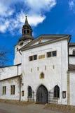 De middeleeuwse ingang van de Kerk Royalty-vrije Stock Afbeelding