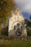 De Middeleeuwse Kerk van Valjala Stock Afbeelding