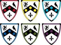 De middeleeuwse Ridders beschermen vector illustratie