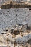 De middeleeuwse Ruiter van Madara van de rotshulp van de periode van Eerste Bulgaars Imperium, Unesco-de Lijst van de Werelderfen stock afbeeldingen