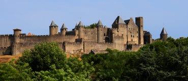 Stad van Carcassonne Royalty-vrije Stock Afbeeldingen