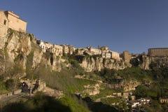 De middeleeuwse stad van Cuenca, Spanje Royalty-vrije Stock Afbeeldingen