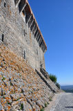 De Middeleeuwse Stad van het Oremkasteel, Portugal Royalty-vrije Stock Foto