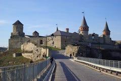 De middeleeuwse vesting Royalty-vrije Stock Afbeeldingen