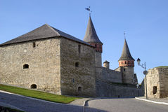 De middeleeuwse vesting Stock Afbeelding
