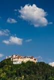 De middeleeuwse vesting van Rasnov, Transsylvanië, Roemenië royalty-vrije stock fotografie