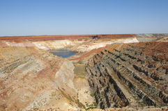 De Middelen van de mijnbouw royalty-vrije stock afbeeldingen