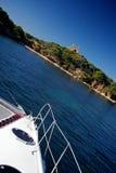 De Middellandse Zee van de catamaran Stock Afbeeldingen