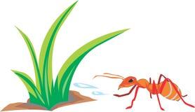 De mieren zijn ijverig royalty-vrije illustratie