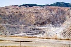 De Mijn van het Koper van Kennecott, Utah royalty-vrije stock afbeelding
