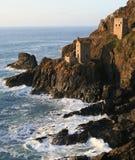 De Mijn van het Tin van de ?Kronen?, Cornwall Stock Foto's