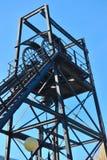 De mijnbouw van de lift Stock Foto