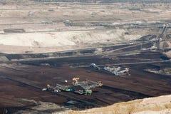 De mijnbouw van de oppervlakte royalty-vrije stock afbeelding
