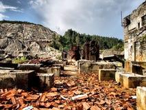 De mijnen van Borralha Royalty-vrije Stock Foto
