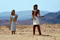 De Mijnen van Solomon van het Park en van de Koning van Timna royalty-vrije stock afbeelding