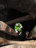 De mijnwerker   Stock Afbeelding