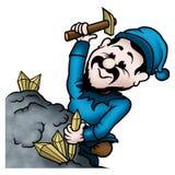 De mijnwerker van SPRITE royalty-vrije illustratie