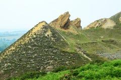De mijnwerkingen van Cornwall, stock afbeeldingen
