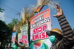 DE MILIEUkwesties VAN INDONESIË Stock Afbeeldingen