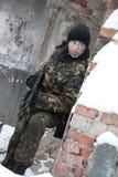 De militair Stock Foto