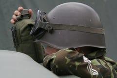 De militair van de jongen Royalty-vrije Stock Afbeelding