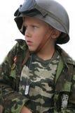 De militair van de jongen Royalty-vrije Stock Foto
