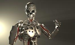 De militair van de robot Royalty-vrije Stock Foto's