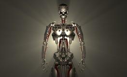 De militair van de robot Royalty-vrije Stock Afbeeldingen