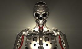 De militair van de robot Stock Foto