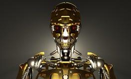 De militair van de robot Stock Fotografie